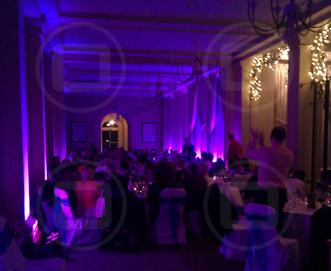 Wedding breakfast - Heythrop Park.
