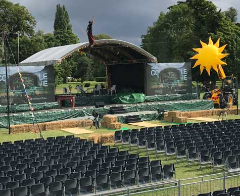 The Countryfile Live Theatre; Blenheim Palace.