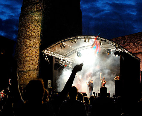 Summer Nights Concerts, Oxford Castle
